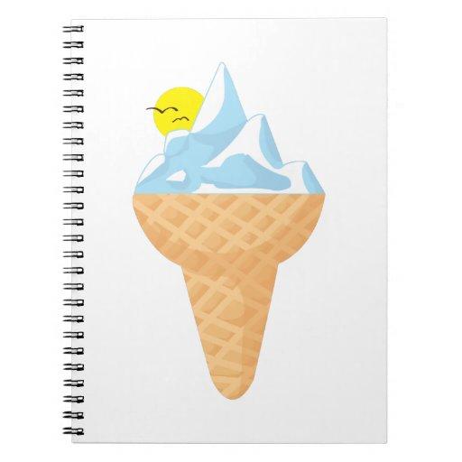 Ice Cone Note Book