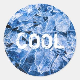Ice Cool Round Sticker