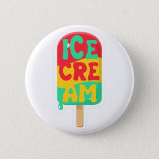 Ice-cream 6 Cm Round Badge