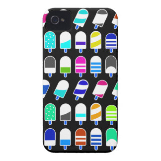 Ice Cream All Over – Colorful Repeating Pattern Case-Mate iPhone 4 Cases