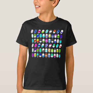 Ice Cream All Over – Colorful Repeating Pattern T-Shirt