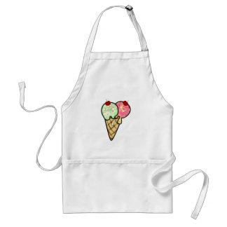 Ice Cream All Products Adult Apron