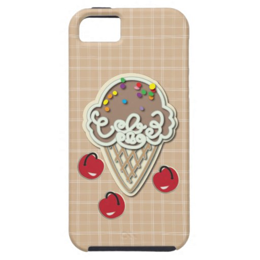 Ice Cream and Cherries iPhone 5 Cover