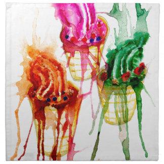 Ice Cream Art 2 Napkin