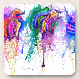 Ice Cream Art 3 Coaster