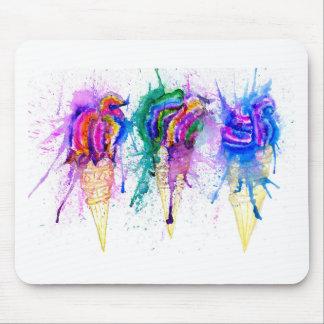 Ice Cream Art 3 Mouse Pad