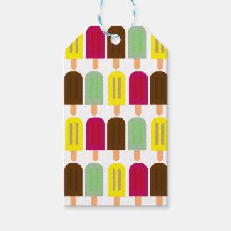 Ice cream bar gift tags