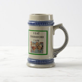 ice cream beer stein