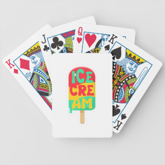 Ice-cream Bicycle Playing Cards