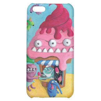 Ice Cream Booth on The Beach iPhone 5C Cases
