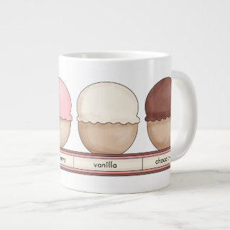 Ice Cream Bowl with handle Jumbo Mug