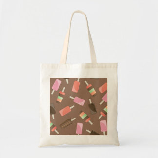 Ice cream budget tote bag