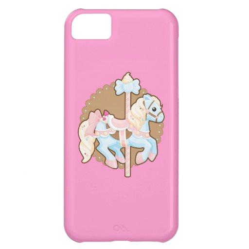 Ice Cream Carousel iPhone 5C Case