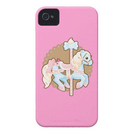 Ice Cream Carousel Case-Mate Blackberry Case