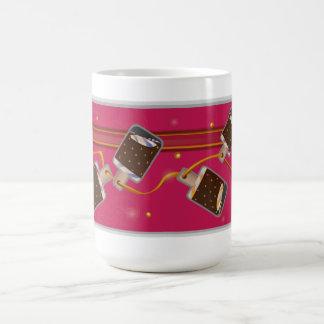 Ice Cream Chocolate Popsicle Basic White Mug