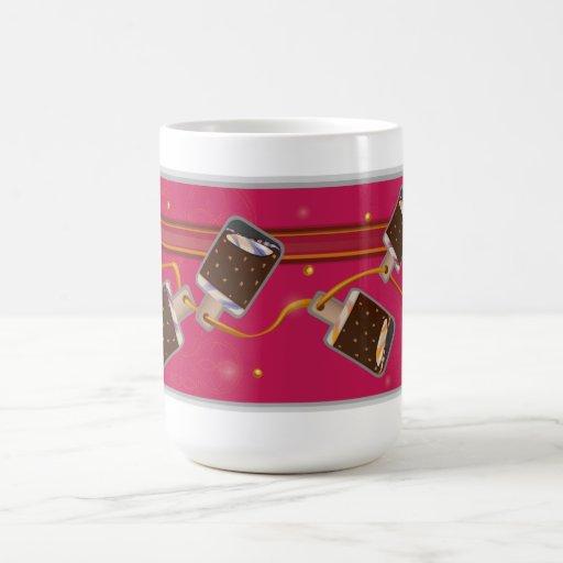 Ice Cream Chocolate Popsicle Coffee Mug