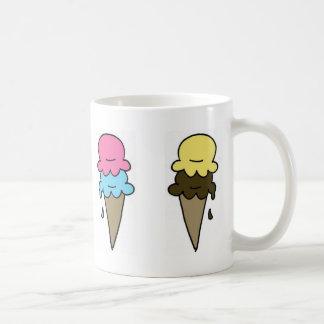 Ice Cream Coffee Basic White Mug