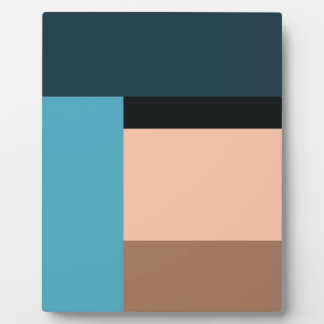 Ice Cream Color Block Plaque