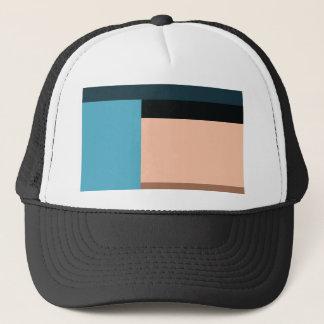 Ice Cream Color Block Trucker Hat