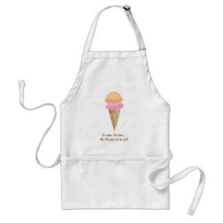 Ice Cream Cone Apron