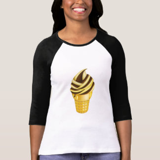 Ice Cream Cone Baseball Shirt