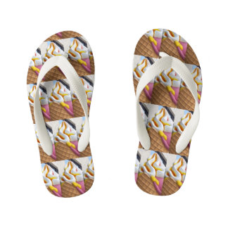 Ice Cream Cone Flip Flops Thongs