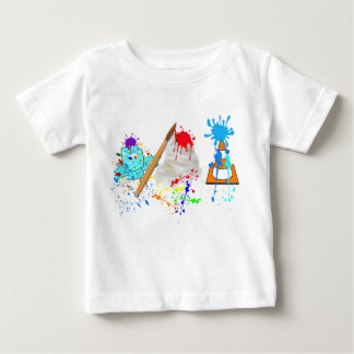 Ice Cream Cone! Fresh Paint Edition Baby T-Shirt