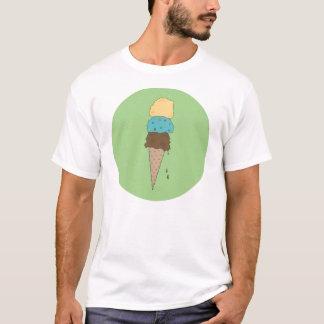 Ice Cream Cone — Green T-Shirt