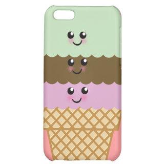 Ice Cream Cone Kawaii Art Case For iPhone 5C