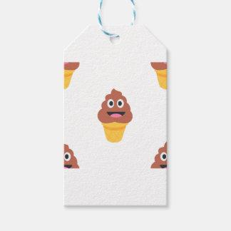 ice cream cone poo emoji