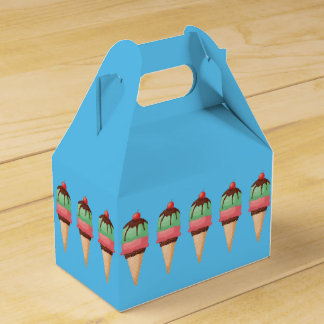 Ice Cream Cones Party Favour Boxes