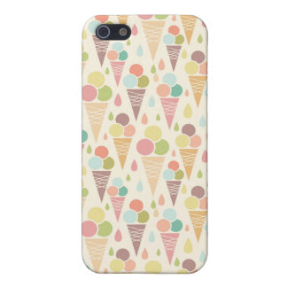 Ice cream cones pattern cover for iPhone 5/5S