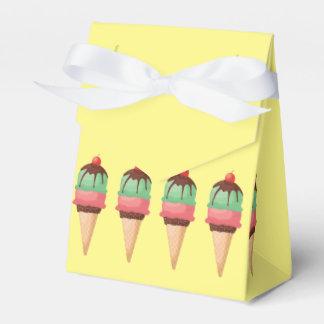Ice Cream Cones Wedding Favour Box