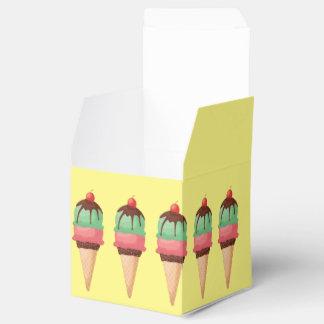 Ice Cream Cones Wedding Favour Boxes