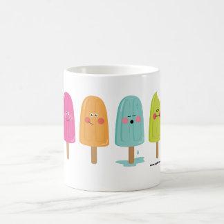 ice cream cup basic white mug