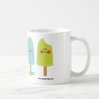 ice cream cup classic white coffee mug