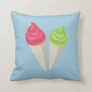 Ice cream cushions