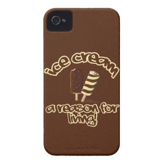 Ice Cream custom Blackberry case