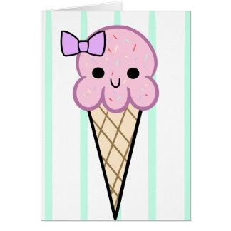 ice cream cuties card