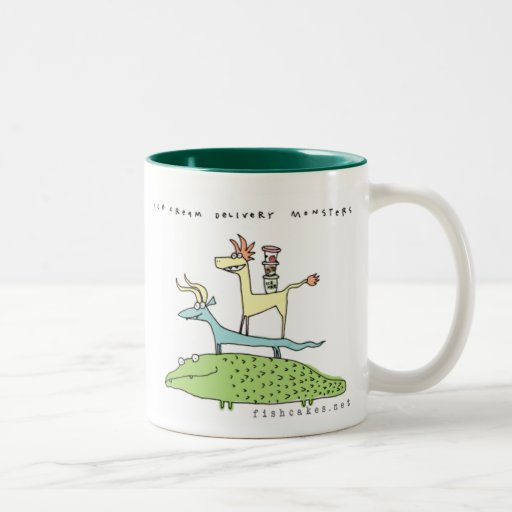 Ice Cream Delivery Monsters - mugs