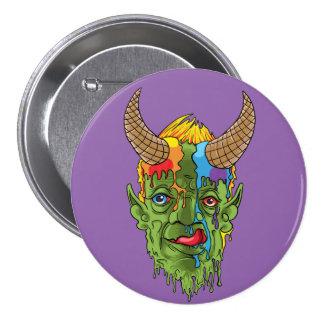 ice cream devil 7.5 cm round badge