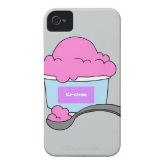 Ice Cream Doodle iPhone 4, Tough iPhone 4 Cover