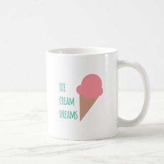Ice Cream Dreams Basic White Mug