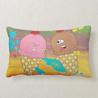 Ice Cream Fight Pillow