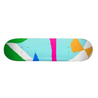 Ice Cream Flavors Shop Entertainment Custom Skate Board