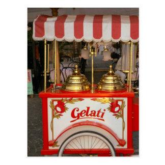 Ice Cream for sale Postcard