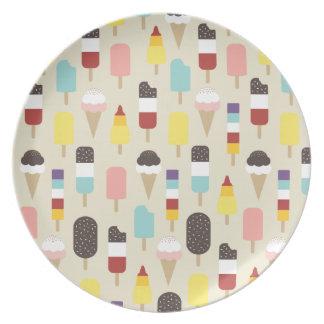 Ice Cream & Frozen Treats Plate