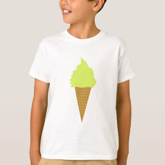 ice cream fun style yellow T-Shirt