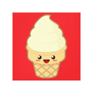 Ice Cream Gallery Wrapped Canvas