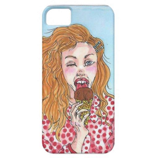 Ice-Cream Girl iPhone 5/5S Cover